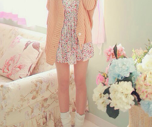 floral with cardi